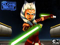 Wallpaper Ahsoka - Twin Lightsabers