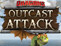 Dragon Outcast Attack | Dragons: Riders of Berk Games