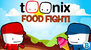 Game Toonix Food Fight Cartoon Network